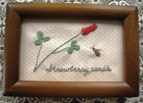 Strawberry candlek~ストロベリーキャンドル